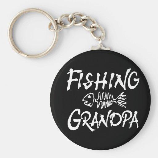 Fishing Granpa Key Chains