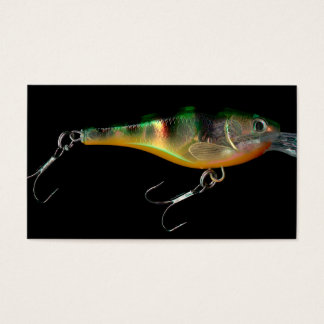 Fishing guide business cards bait shop lure photo