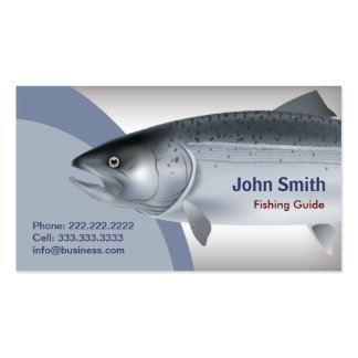 Fishing Guide Service Business Card