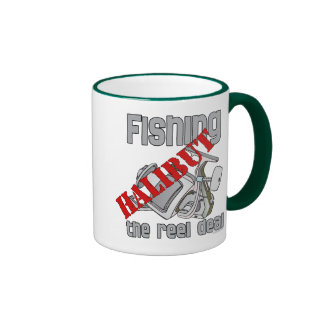Fishing Halibut The Reel Deal Fishing Ringer Mug