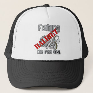 Fishing Halibut The Reel Deal Fishing Trucker Hat