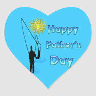 Fishing - Happy Father's Day Sticker
