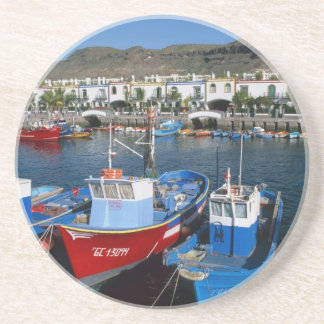 Fishing Harbor, Puerto de Mogan, Gran Canaria, Coaster