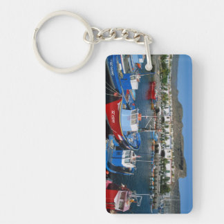 Fishing Harbor, Puerto de Mogan, Gran Canaria, Key Ring