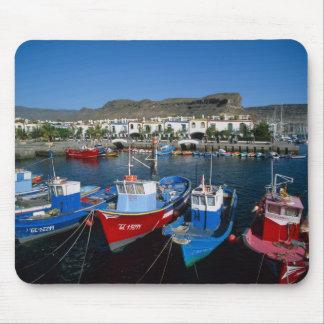 Fishing Harbor, Puerto de Mogan, Gran Canaria, Mouse Mat