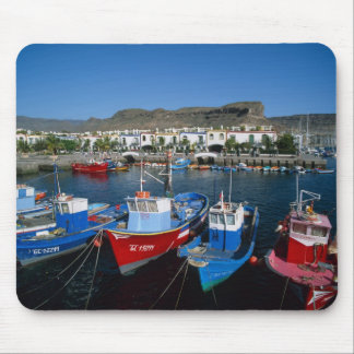 Fishing Harbor, Puerto de Mogan, Gran Canaria, Mouse Pad