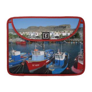 Fishing Harbor, Puerto de Mogan, Gran Canaria, Sleeve For MacBooks