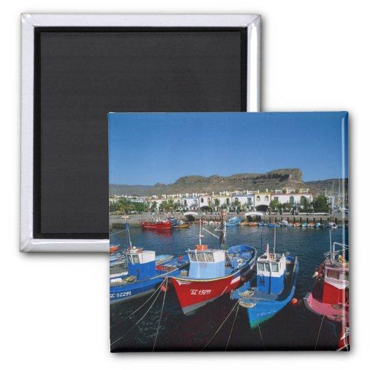 Fishing Harbour, Puerto de Mogan, Gran Canaria, Magnet