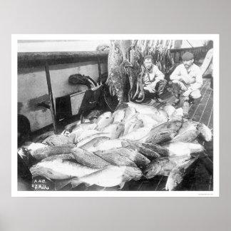 Fishing In Alaska 1922 Posters