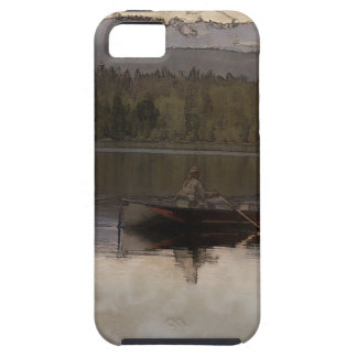 Fishing in Silence Case For The iPhone 5