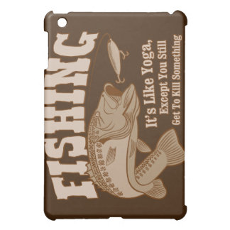 Fishing: It's like Yoga, except you kill something Cover For The iPad Mini