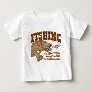 Fishing: It's like Yoga, except you kill something Tshirts