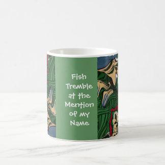 fishing joke basic white mug