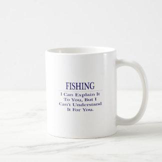 Fishing Joke .. Explain Not Understand Mug