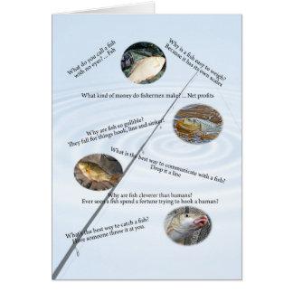 Fishing jokes card number 1