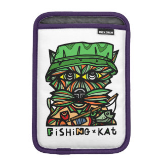 """Fishing Kat"" iPad Mini Soft Case Sleeve For iPad Mini"