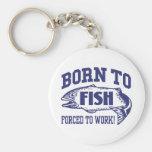 Fishing Key Chain