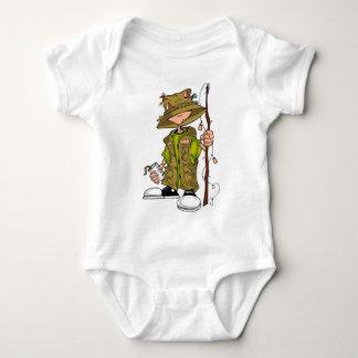 Fishing Kid Baby Bodysuit