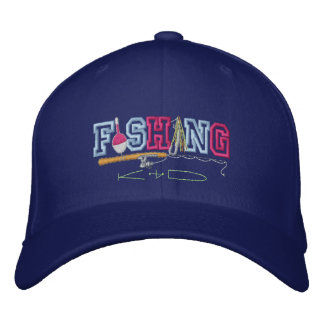 Fishing Kid Baseball Cap