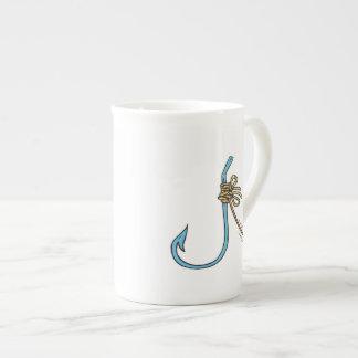 Fishing Knot Bone China Mug