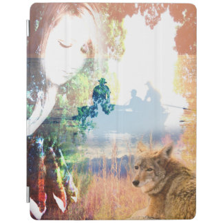 Fishing Landscapes North American Park Outdoor iPad Cover