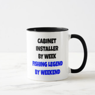 Fishing Legend Cabinet Installer Mug
