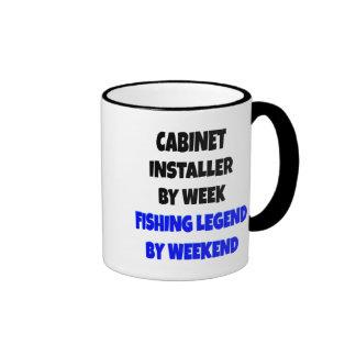 Fishing Legend Cabinet Installer Ringer Mug