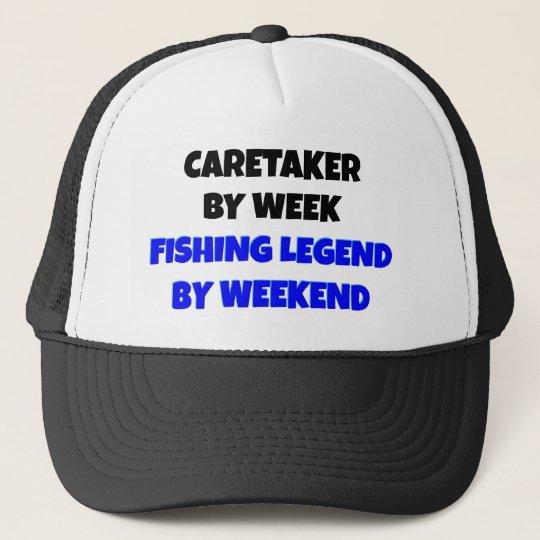 Fishing Legend Caretaker Trucker Hat