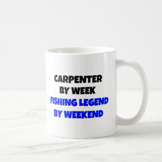 Fishing Legend Carpenter Basic White Mug