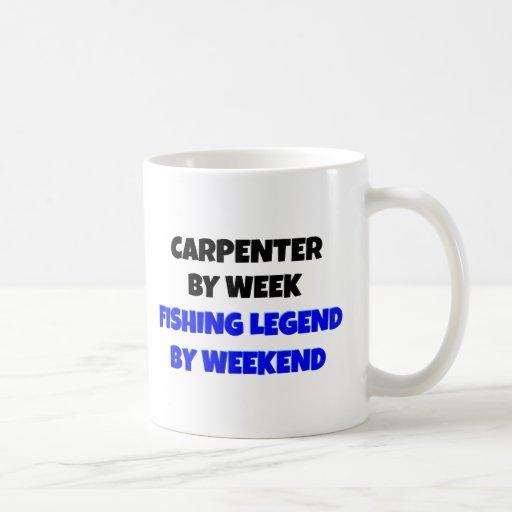 Fishing Legend Carpenter Mugs