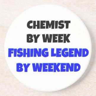 Fishing Legend Chemist Coaster
