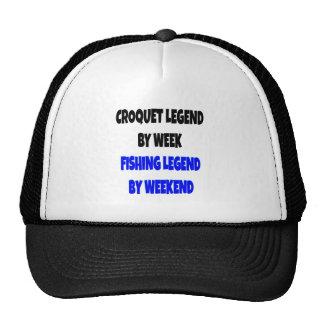 Fishing Legend Croquet Legend Cap