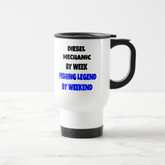Fishing Legend Diesel Mechanic Travel Mug