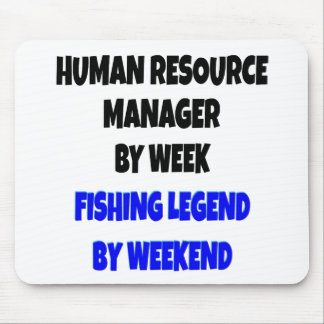 Fishing Legend Human Resource Manager Mouse Mat