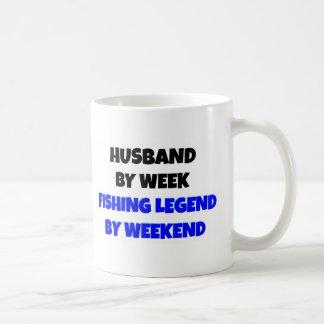Fishing Legend Husband Mug