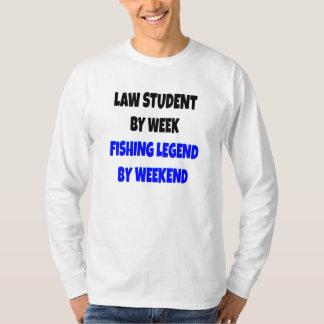 Fishing Legend Law Student T-Shirt