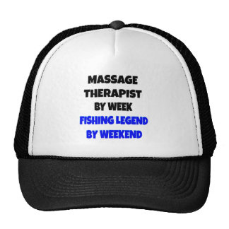Fishing Legend Massage Therapist Trucker Hats