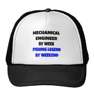 Fishing Legend Mechanical Engineer Cap