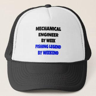 Fishing Legend Mechanical Engineer Trucker Hat