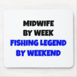 Fishing Legend Midwife Mouse Mats
