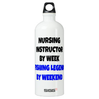 Fishing Legend Nursing Instructor SIGG Traveller 1.0L Water Bottle