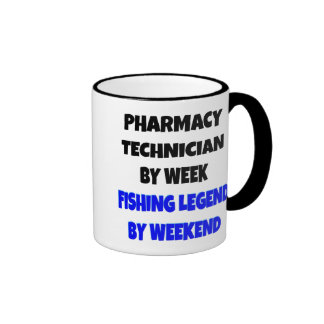 Fishing Legend Pharmacy Technician Ringer Mug