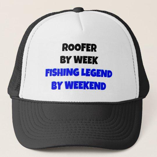Fishing Legend Roofer Trucker Hat