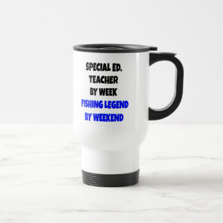 Fishing Legend Special Education Teacher Stainless Steel Travel Mug