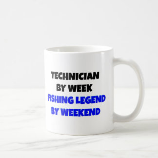Fishing Legend Technician Basic White Mug
