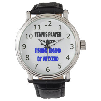 Fishing Legend Tennis Player Watch
