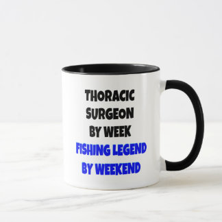 Fishing Legend Thoracic Surgeon Mug