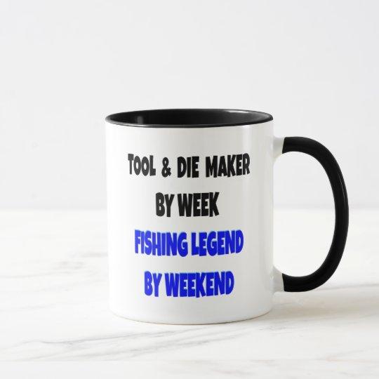 Fishing Legend Tool and Die Maker Mug