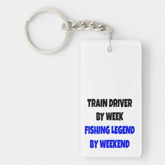 Fishing Legend Train Driver Key Ring