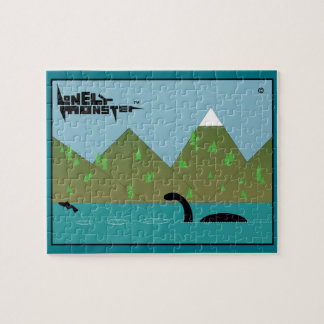 Fishing Lonely Monster Jigsaw Puzzle
